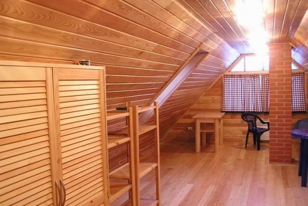 Деревянный потолок своими руками видео фото