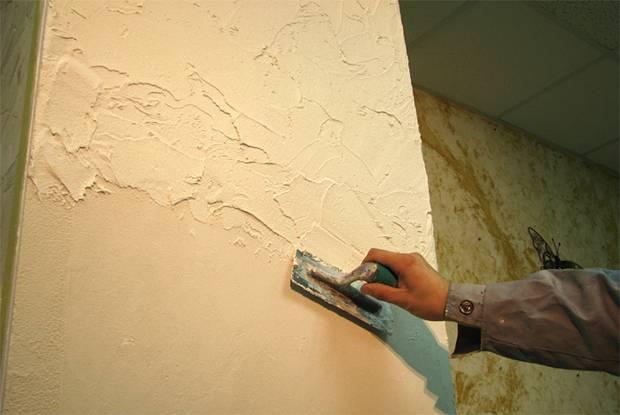 Декоративные отделка стен своими руками